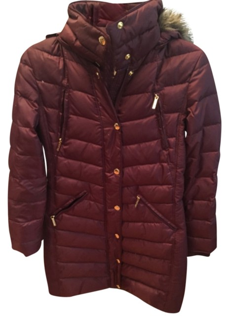 Item - Burgundy Coat Size 0 (XS)