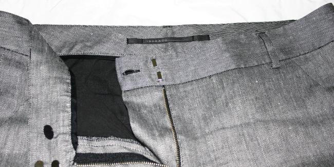Isda & Co. Classic Modern Walking Dressy Flat Front Designer Bermuda Shorts black and white hounds tooth