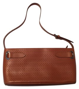 Asprey Designer Leather Brown Shoulder Bag