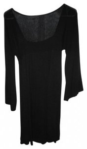 Express short dress Black Sweater Square Neck on Tradesy