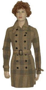 Burberry Trench Check Trench Trench Coat