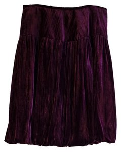 Saks Fifth Avenue Skirt burgundy