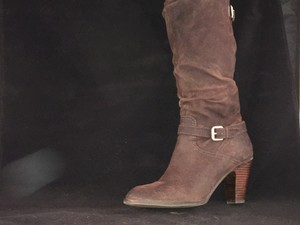 Guess Shoe Heels Size 9.5m New Brown Boots