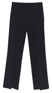 Theory Trousers Wide Leg Pants Black