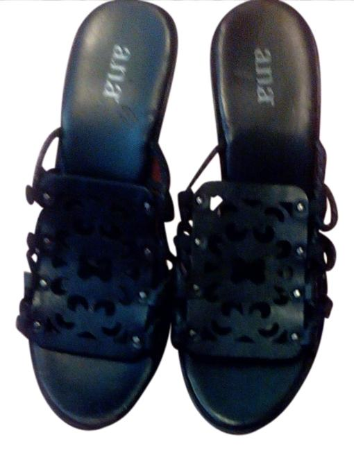 Item - Black Wedges Size US 9 Regular (M, B)