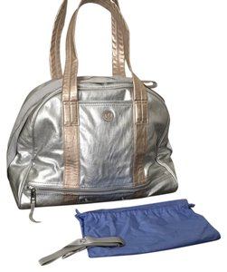 Lululemon Silver Travel Bag