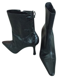 Nine West Ankle Boot Leather Boot Black Boots