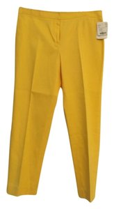 Doncaster Capri/Cropped Pants Yellow