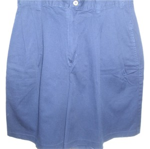 Van Heusen Walking Golf Pleated Bermuda Shorts blue