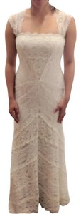 Nicole Miller Bridal Wedding Gown Aline Cap Dress