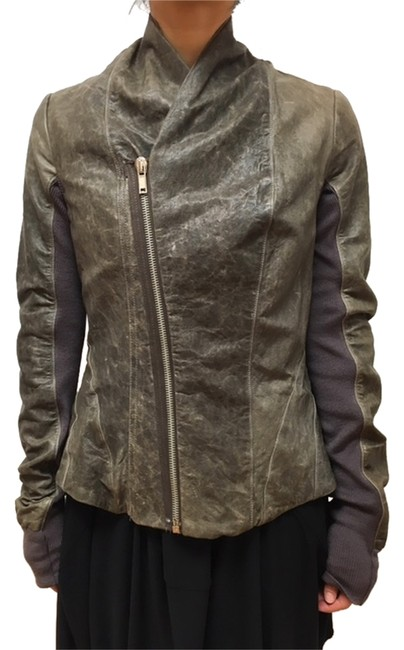 Preload https://item3.tradesy.com/images/rick-owens-brown-princess-leather-jacket-size-10-m-10067842-0-1.jpg?width=400&height=650