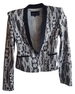 BCBGMAXAZRIA Black combination Blazer