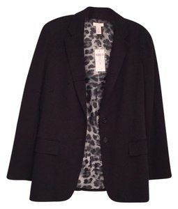 Chico's Solid black Blazer