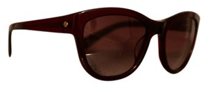 Lanvin Lanvin SLN 556 Dark Burgundy Cat Eye Sunglasses