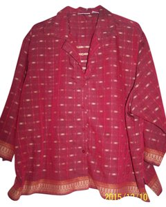 Fashion Bug Blouse Crop Cover Up Tunic