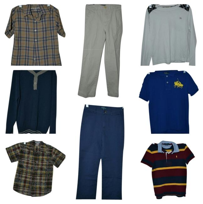 Preload https://img-static.tradesy.com/item/10069261/burberry-white-red-yellow-blue-multi-color-boy-clothing-lot-of-long-sleeved-ralph-lauren-polo-chaps-0-1-650-650.jpg