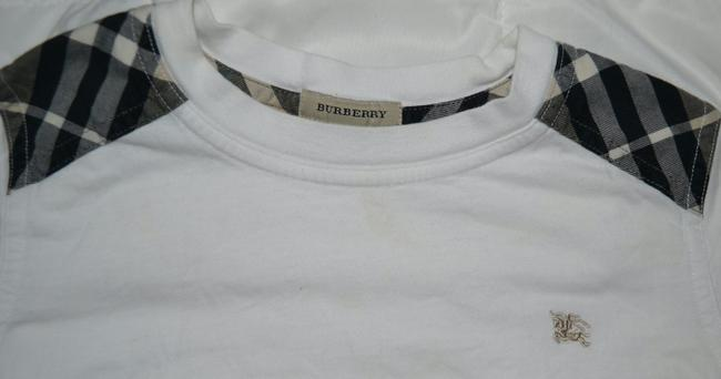Burberry Ralph Lauren Polo Janie And Jack Marks And Spencer Chaps Khaki Pants Long Sleeve Sleeve Sweater Medium Winter T Shirt white, red, yellow, blue, multi color Image 2