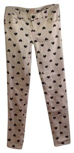 Fire Skinny Hearts Los Angeles Skinny Pants