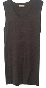 American Vintage short dress Grey on Tradesy