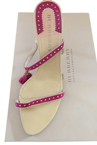 Burberry Pink fuschia Sandals