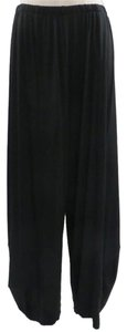 Artsy Darted M Square Baggy Pants Black
