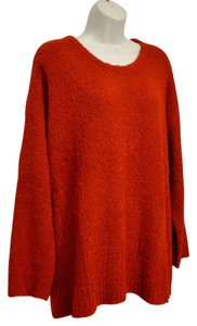 J. Jill Plush Boucle Crew Neck Roomy Generous Fit Jill Sweater