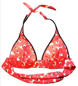 Victoria's Secret Victoria's Secret Red Floral Bikini Top