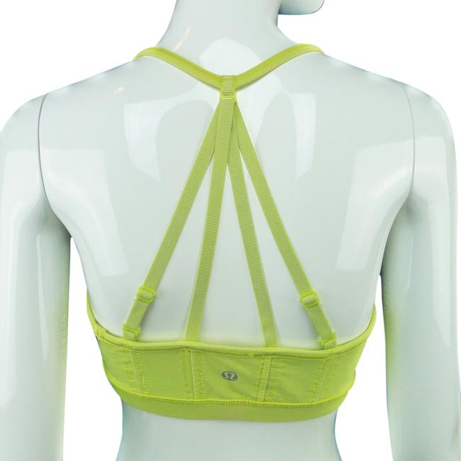 Item - Clarity Yellow Activewear Sports Bra Size 8 (M, 29, 30)