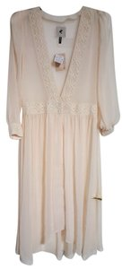 One Teaspoon Lace Trim Ethereal Duster Dress