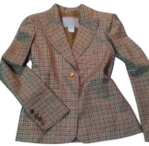 Marc Jacobs Beige/brown/peach Multi Blazer