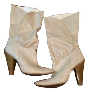 Charlotte Russe Ivory Boots