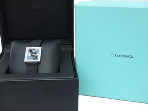 Tiffany & Co. new with box Ladies Tiffany & Co. 18K white Gold Atlas Cocktail Watch with Diamonds