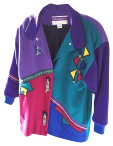 Mary Lou Ozbolt Storer Primary color blocks - vibrant and different Jacket