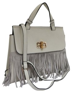 Other Fringe Faux Cross Body Bag