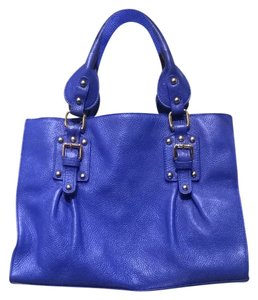 Terzetto Satchel in Cobalt Blue