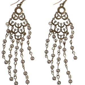 New Year's eve bye. Auze Earrings