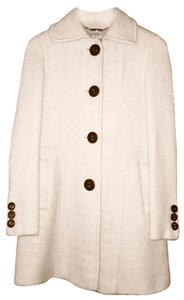 Karen Millen Wool Trench Pea Pea Coat