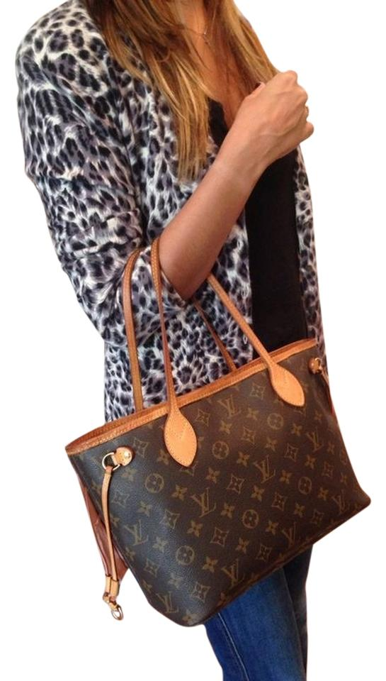 6a7ab68142ef9 Louis Vuitton Neverfull Pm Monogram Canvas Tote Small Shoulder Bag ...