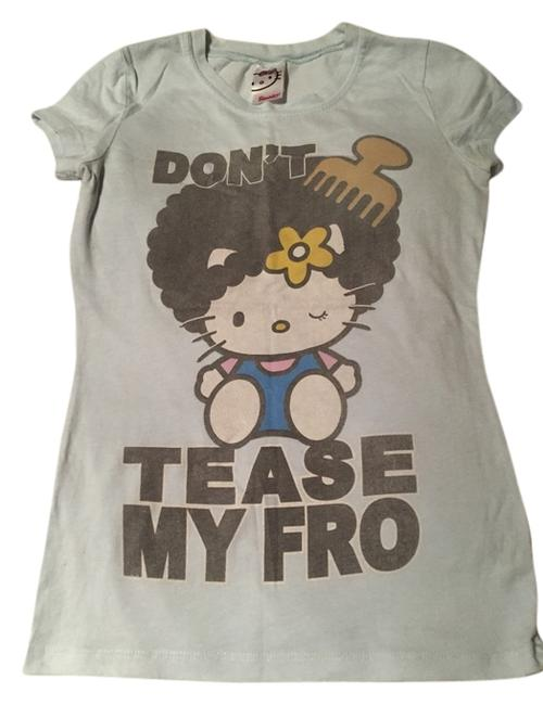 Item - Baby Blue Tee Shirt Size 6 (S)