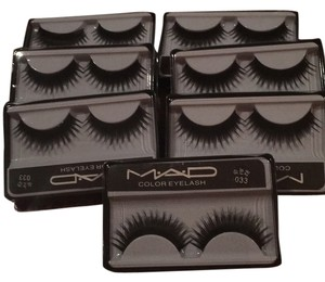 MAD 7 PAIRS OF FULL SULTRY SOFT BLACK FALSE EYELASHES