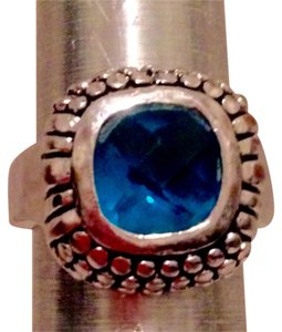 Premier Designs Premier Designs Silver & Blue Topaz Color Ring