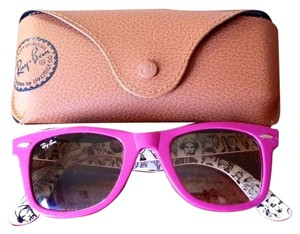 fcc4928508 Ray-Ban Special Edition Subway Never Hide Wayfarer Sunglasses Orchid
