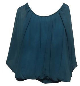 Honey Punch Top Blue