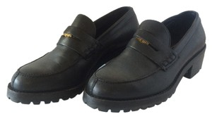 DKNY Leather Vintage Black Mules