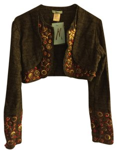 Marciano Crop Jacket Colored Beaded Cardigan