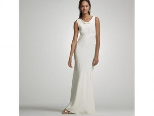 Item - Ivory Silk Hope Modern Wedding Dress Size 14 (L)