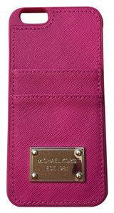 Michael Kors Michael Kors Saffiano Leather Pocket Smartphone Case for iPhone 6, Style #32H4GELL3L