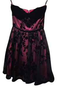 Betsey Johnson Betseyville Mini Velvet Burnout Dress