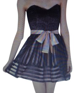 Betsey Johnson Mini Strapless Dress
