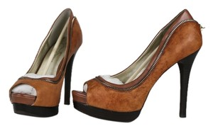 Jessica Simpson Vintage Brown Platforms